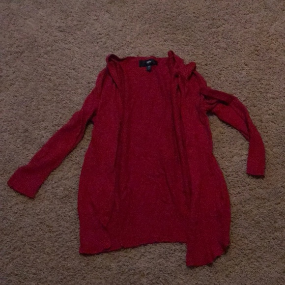 Mossimo Supply Co. Sweaters - 3/4 Sleeve Red Sweater